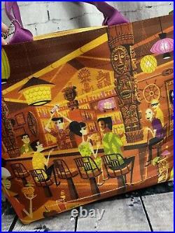 Disney Parks Shag Harvey's Tiki Bar Tote Purse Bag Trader Sams Brand New DIS1