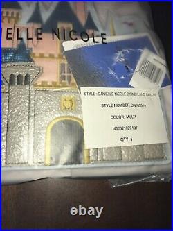 Disney Parks Sleeping Beauty Castle Danielle Nicole Crossbody Purse New