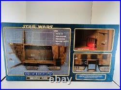 Disney Parks Star Wars Droid Factory Sandcrawler Playset 20in Jawa Gonk NEW Toy