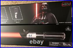 Disney Parks & Star Wars Exclusive Darth Vader Red Lightsaber with Removable Blade