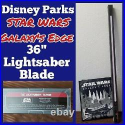 Disney Parks Star Wars Galaxy's Edge 36 Legacy/Savi's Workshop Lightsaber Blade