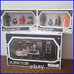 Disney Parks Star Wars Galaxy's Edge Color-Changing Droid Factory plus 9 Droids