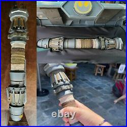 Disney Parks Star Wars Galaxys Edge Rey YELLOW Lightsaber Legacy Hilt NEW