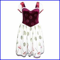 Disney Parks The Dress Shop Tightrope Girl Costume Haunted Mansion Medium NEW