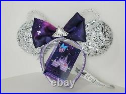 Disney Parks The Main Attraction Minnie Mouse Space Mountain Ears Headband