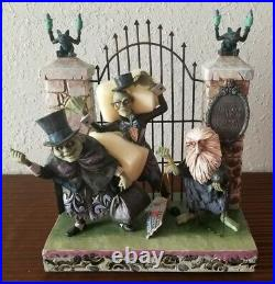 Disney Parks Traditions Jim Shore Figure Haunted Mansion Hitchhiking Ghosts