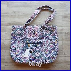 Disney Parks Vera Bradley Mickey's Sweet Treats Large Tote Bag NEW