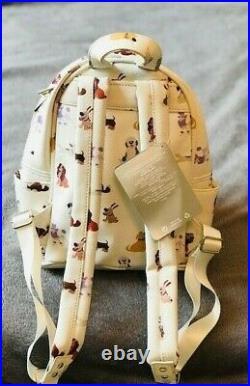 Disney Store Parks Disney Dogs Mini Backpack Oh My Disney Lady, Max, Dug, Bolt+ NEW