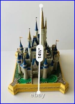 Disney World Parks Large Cinderella Castle Sculpture Big Fig Medium Figure