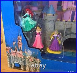 Disneyland Castle Sound & Music Play Set Sleeping Beauty's Princess Aurora New