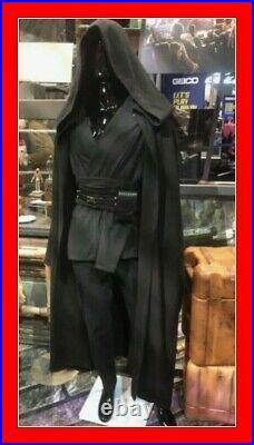 Disneyland Disney Parks Star Wars Galaxys Edge Jedi Robe Black Costume Cosplay