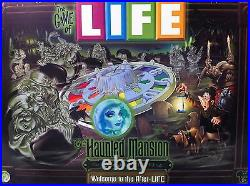 FREE SHIPPING! THE HAUNTED MANSION GAME OF LIFE Disney Theme Parks Edition