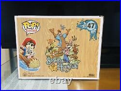 Funko Pop! Disney Parks Splash Mountain Br'er Bear and Br'er Rabbit #47. Mint A+