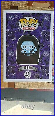 Funko Pop Ezra In Buggy #49 Disney Haunted Mansion PARKS EXCLUSIVE