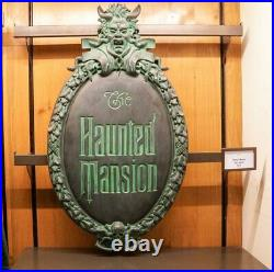Haunted Mansion Gate Plaque Full-Size Replica Sign Art of Disney Theme Parks
