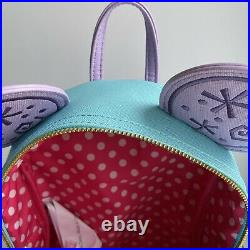 LOUNGEFLY Disney HKDL NWT Minnie Mouse Main Attraction Teacup Backpack