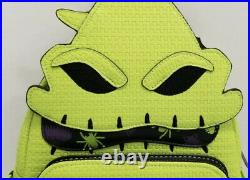 Loungefly Disney Parks Halloween Oogie Boogie Glow In The Dark Mini Backpack New