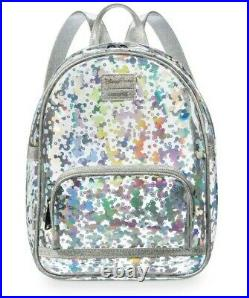 Loungefly Mini Backpack Magic Mirror Metallic Mickey Mouse Disney Parks NWT