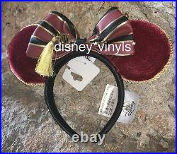 NEW Disney Parks HOLLYWOOD Tower Hotel Of TERROR Minnie Ears Headband Loungefly