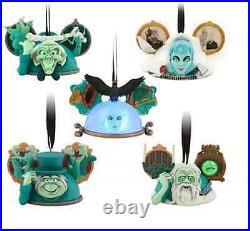 NEW Disney Parks Haunted Mansion Ear Hat Ornament Set Costa Alavezos LE 2000