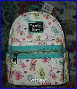 NEW Disney Parks Loungefly Duffy Friends Olu Aulani Resort Mini Backpack NWT