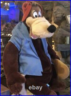 NEW Disney Parks Splash Mountain Briar Brer Bear Plush Brer NWT