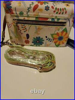 NEW Disney Parks Tinkerbell Crossbody Purse by Dooney & Bourke LIMITED EDITION