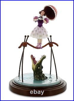 NIB Disney Parks Haunted Mansion Stretching Portrait Ballerina Tightrope Figure