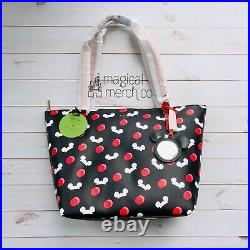 NWT 2019 Disney Parks Kate Spade Mickey Mouse Ear Hat Tote Black