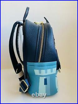 NWT Disney Loungefly Cinderella Castle Mini Backpack Fantasyland Parks