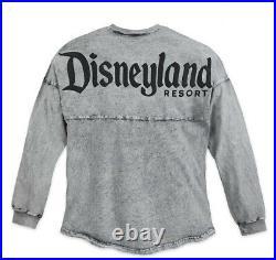 NWT Disney Parks Disneyland Spirit Jersey MINERAL WASH GRAY Size M