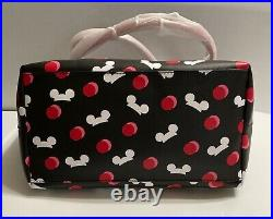 NWT! Disney Parks Kate Spade Mickey Mouse Icon Ear Hat Tote Bag Black RETIRED
