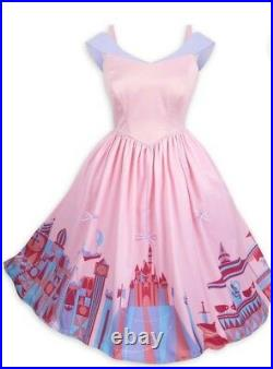 NWT Disney Parks The Dress Shop Pink Fantasyland Dress Women by Her Universe