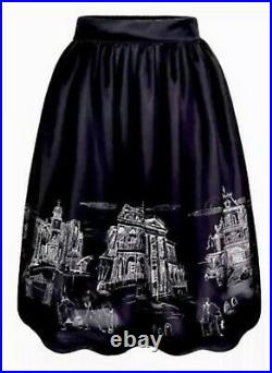NWT Disney Parks Womens Her Universe Haunted Mansion Ballroom Skirt ALL SIZES