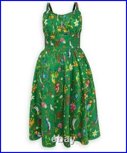 NWT The Dress Shop Disney Parks Enchanted Tiki Womens Dress RETIRED