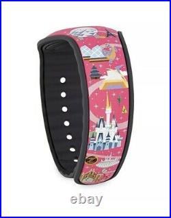 New Disney Dooney Bourke Park Life Magic Band Magicband 2 Castle Pink LE 2500