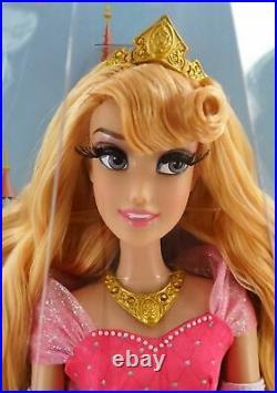 New Disney Parks Diamond Castle Collection Sleeping Beauty Aurora Doll LE 6000