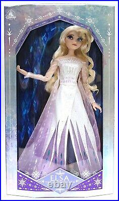 New Disney Parks Frozen 2 II Snow Queen Elsa Doll Limited Edition 8500