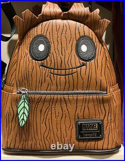 New Disney Parks Loungefly Marvel Guardians Of The Galaxy Groot Mini Backpack