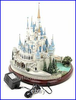 New Disney Parks Olszewski Cinderella Castle Figure Main Street Miniature in Box