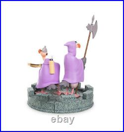 New Disney Parks Robin Hood Trigger And Nutsy Vultures Medium Big Figure