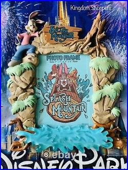 New Disney Parks Splash Mountain Attraction Photo Frame 4 x 6 Brer Rabbit