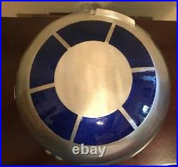 New Disney Parks Star Wars Galaxy's Edge R2-D2 Droid Head 10 Metal Serving Bowl