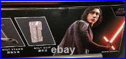 New Disney Parks Star Wars Kylo Ren FX Lightsaber with Removable Blade Last Jedi