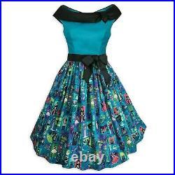 New Disney Parks The Dress Shop Her Universe Haunted Mansion Women's Dress XS-3X