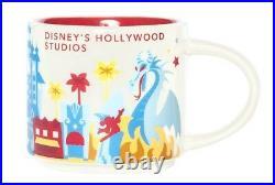 New Starbucks Disney Parks Hollywood Studios Maleficent Dragon YAH Ceramic Mug
