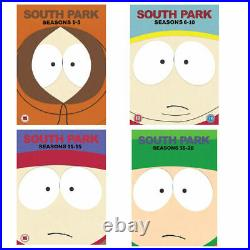SOUTH PARK Complete Seasons 1-20 DVD Boxsets REGION 4 New & Sealed