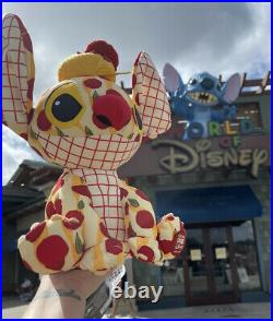 Stitch Crashes Disney Parks Lady and The Tramp Plush New Limited Release 2/12